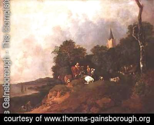Thomas Gainsborough - View near the Coast