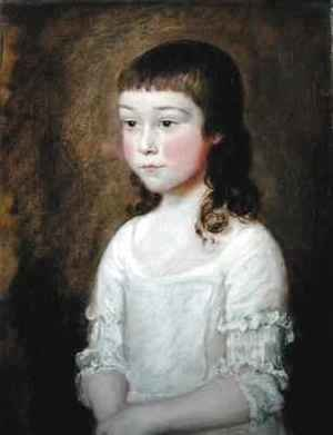 Thomas Gainsborough - Portrait of Anna Davidson