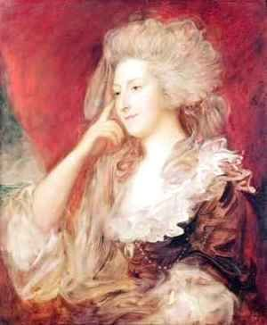 Thomas Gainsborough - Mrs Fitzherbert