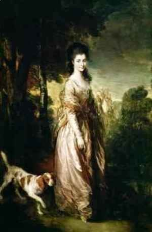 Thomas Gainsborough - Portrait of Mrs Lowndes Stone 1758-1837