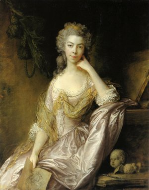 Thomas Gainsborough - Miss Drummond