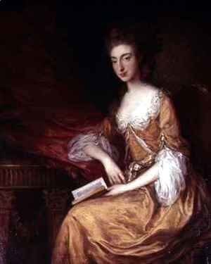 Thomas Gainsborough - Portrait of a Lady with a Book