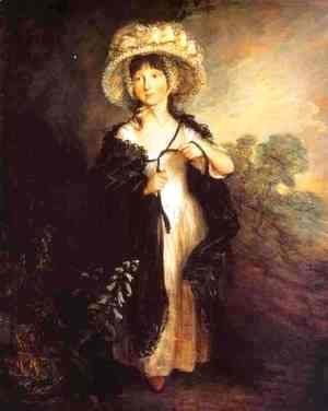 Thomas Gainsborough - Miss Elizabeth Haverfield