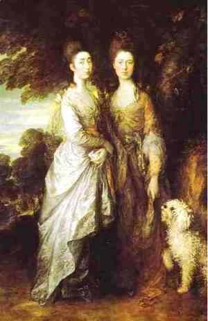 Thomas Gainsborough - The Painters daughters