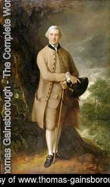 Thomas Gainsborough - William Johnstone Pulteney