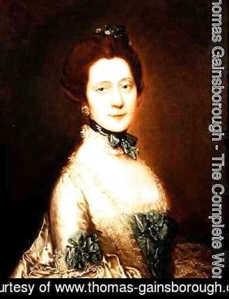 Thomas Gainsborough - Portrait of Anne Greenly