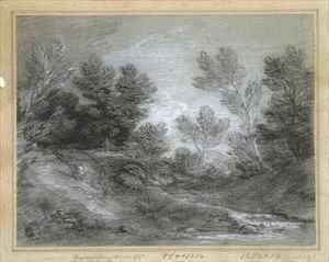 Thomas Gainsborough - A Woodland Stream