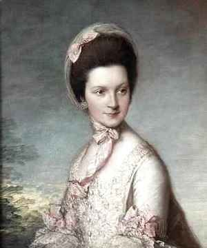 Thomas Gainsborough - Henrietta Vernon Lady Grosvenor