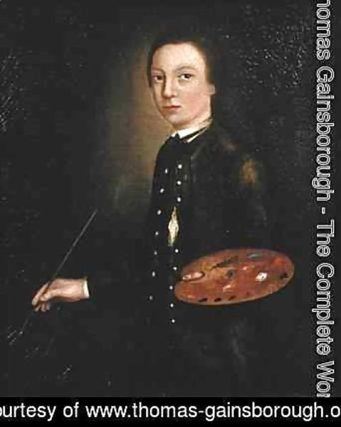 Thomas Gainsborough - Self Portrait as a Boy