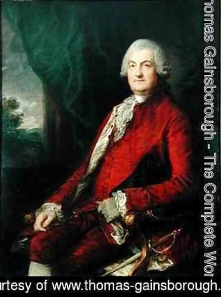 Thomas Gainsborough - Paul Methuen
