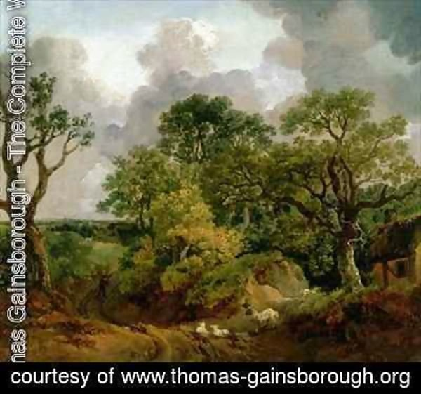 Thomas Gainsborough - Wooded Landscape
