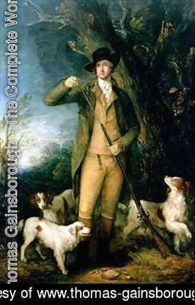 Thomas Gainsborough - Thomas William Coke 1752-1842 1st Earl of Leicester