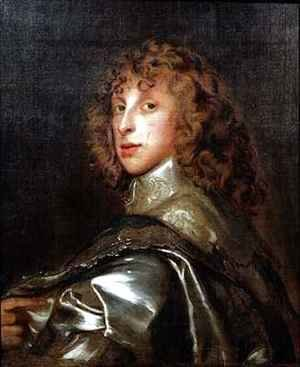Portrait of Lord Bernard Stuart later Earl of Lichfield 1622-45 after Van Dyck