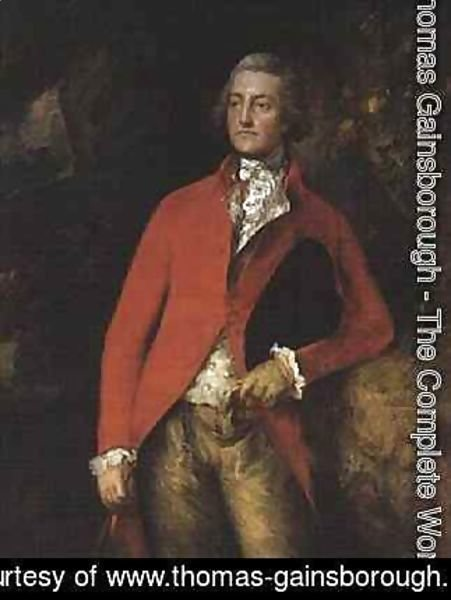 Thomas Gainsborough - Major William Tennant of Needwood House Staffs