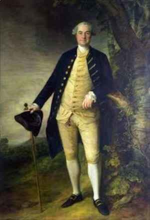 Thomas Gainsborough - Portrait of William Hall