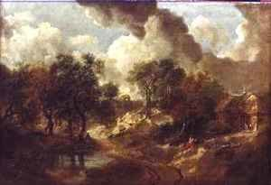 Thomas Gainsborough - Suffolk Landscape