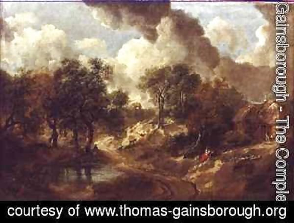 Thomas Gainsborough - Suffolk Landscape 2