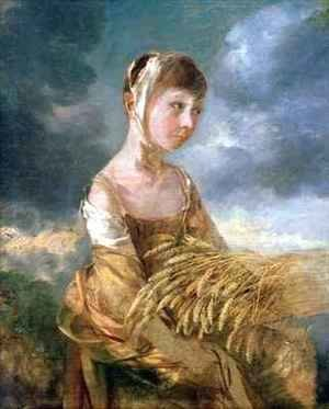 Thomas Gainsborough - Miss Gainsborough Gleaning