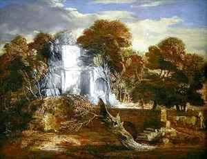 Thomas Gainsborough - Landscape with a Figure and Cattle