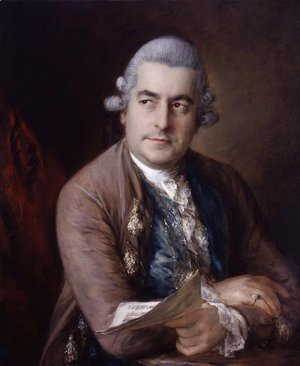 Portrait of Johann Christian Bach 1735-1782