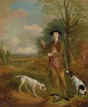 Thomas Gainsborough - Major John Dade of Tannington Suffolk