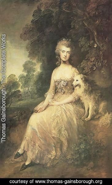 Thomas Gainsborough - Mrs Mary Robinson Perdita