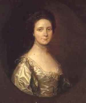 Thomas Gainsborough - Portrait of Mrs Simpson