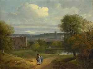 Thomas Gainsborough - View of Ipswich from Christchurch Park