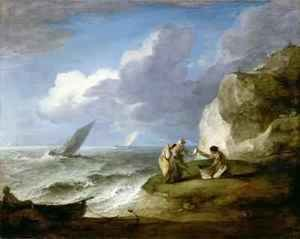 Thomas Gainsborough - Coastal Scene