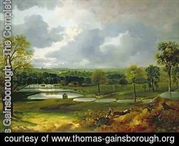 Thomas Gainsborough - Holywells Park Ipswich