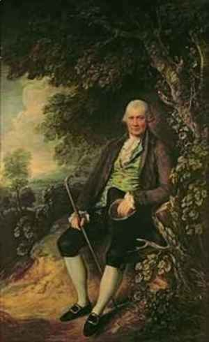 Thomas Gainsborough - Portrait of the Squire John Wilkinson 1728-1808