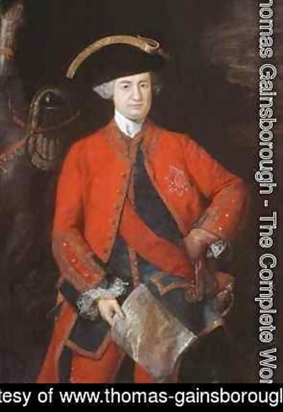 Thomas Gainsborough - Lord Robert Clive 1725-74 in General Officers uniform