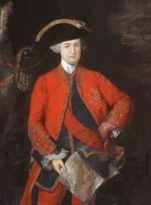 Lord Robert Clive 1725-74 in General Officers uniform