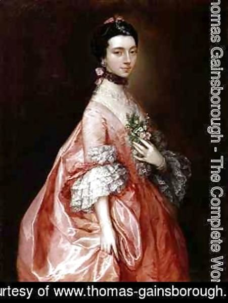 Thomas Gainsborough - Mary Little Later Lady Carr