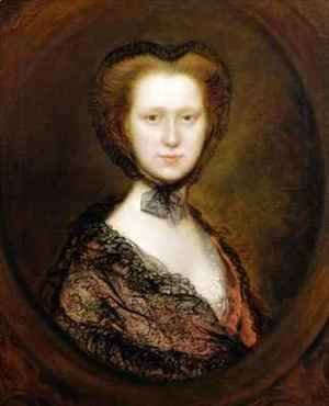 Thomas Gainsborough - Lady Lucy Boyle 1744-92 Viscountess Torrington