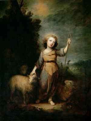 Thomas Gainsborough - The Good Shepherd