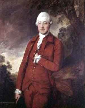 Thomas Gainsborough - Sir Christopher Whichcote