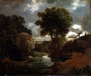 Thomas Gainsborough - A Pool in the Woods