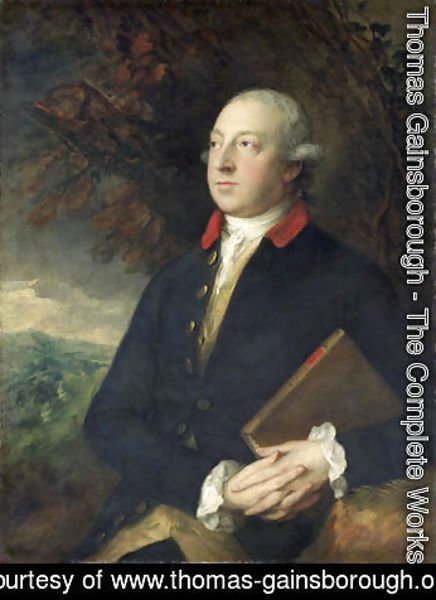 Thomas Gainsborough - Thomas Pennant 1726-98