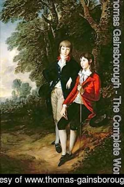 Thomas Gainsborough - Edward and Thomas Tomkinson