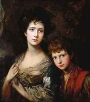 Thomas Gainsborough - Elizabeth and Thomas Linley