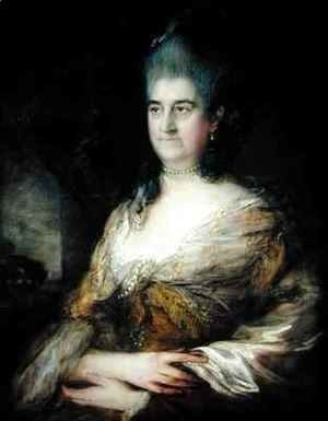 Portrait of a Lady said to be Elizabeth Chudleigh
