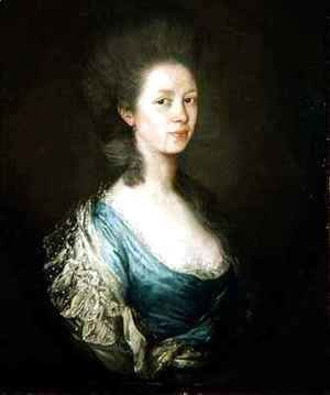 Thomas Gainsborough - Mrs Samuel Kilderbee