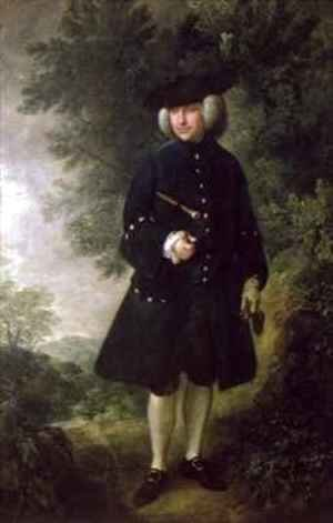 Portrait of Dr Rice Charleton 1710-89