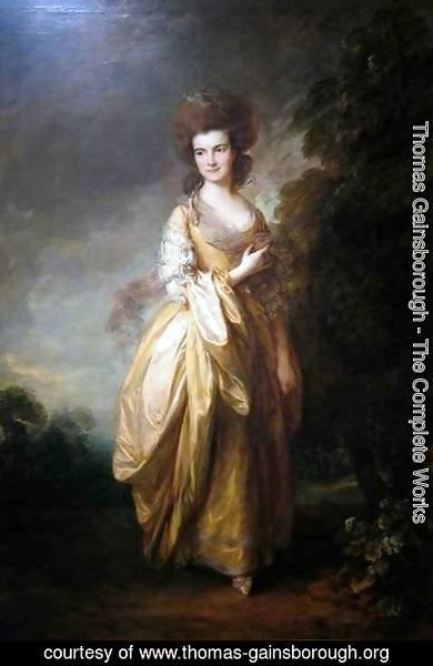 Thomas Gainsborough - Elizabeth Jenks Beaufoy later Elizabeth Pycrofteth