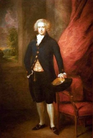 Thomas Gainsborough - Portrait of John Langston Esquire of Sarsden