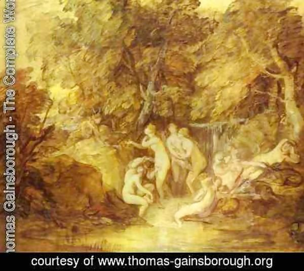 Thomas Gainsborough - Diana And Actaeon 1785