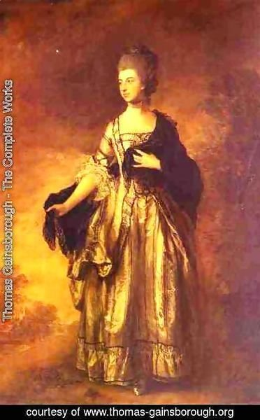 Thomas Gainsborough - Isabella Viscountess Molyneux 1769