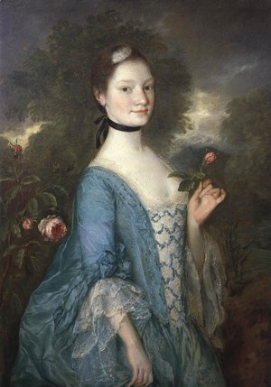 Thomas Gainsborough - Lady Innes 1757