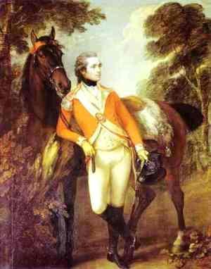 Thomas Gainsborough - Portrait Of John Hayes St Leger 1782